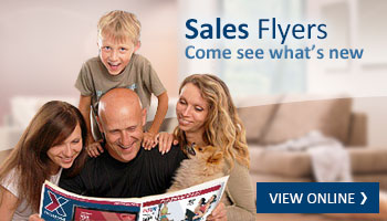View our sales flyers online